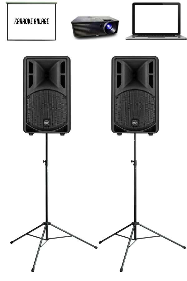 Karaoke-Anlage