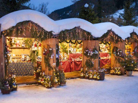 weihnachtsbuden als Weihnachtsfeier